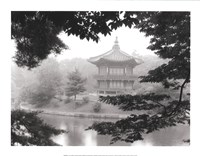 Lotus Pavillion I Fine-Art Print