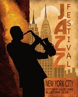 1962 Jazz in New York Fine-Art Print