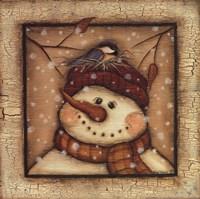 Snowman II Fine-Art Print