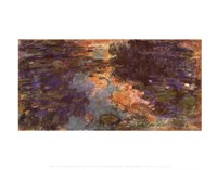 The Water Lily Pond, 1918 - close up Fine-Art Print