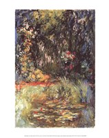 The Water Lily Pond, 1918 Fine-Art Print