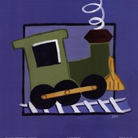 Kiddie Train Fine-Art Print