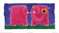 Funky Elephant Fine-Art Print