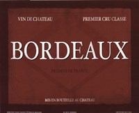 Bordeaux Fine-Art Print