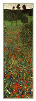 Field of Poppies, c.1907 (detail) - vertical Fine-Art Print