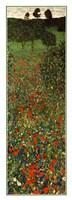 Field of Poppies, c.1907 (detail) - vertical Fine-Art Print