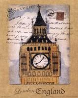 Souvenir of London Fine-Art Print