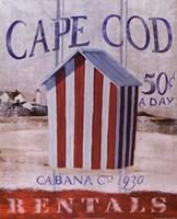 Cape Cod Cabana Fine-Art Print