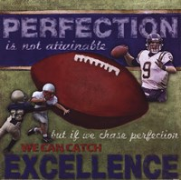 Perfection - Football Fine-Art Print