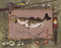 Large Mouth Bass Fine-Art Print