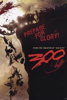 300 - Prepare for Glory Wall Poster