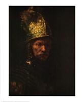 Man with Helmet Fine-Art Print