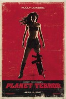 Grindhouse Loaded Wall Poster