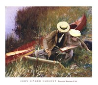 An Out-of-Doors Study (formerly known as Paul Helleu Sketching with His Wife) Fine-Art Print