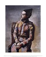 Portrait of a Harlequin Fine-Art Print