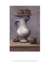 Still Life with Pitcher and Apple Fine-Art Print