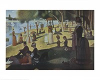Sunday Afternoon on the Island of La Grande Jatte, c.1886 Fine-Art Print