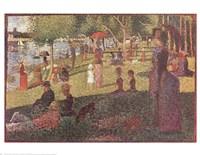 Study for 'Sunday on La Grande Jatte' Fine-Art Print