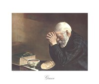Grace (Old Man Praying) Fine-Art Print