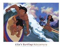 Lilo's Surfing Adventure Fine-Art Print