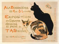 A la Bodiniere / Exposition Steinlen Fine-Art Print