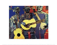 Three Folk Musicians, 1967 Fine-Art Print