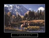 Freedom - Cowboys Fine-Art Print