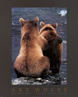 Two Bear Cubs Fine-Art Print