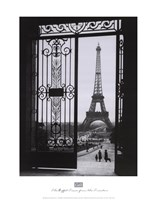 The Eiffel Tower from the Trocadero Fine-Art Print
