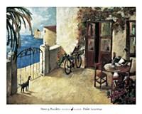 Perro y Bicicleta Fine-Art Print