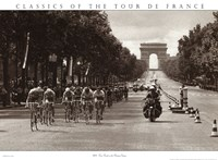1975 Tour Finish On The Champs Elysees Fine-Art Print