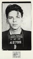 Frank Sinatra [Mugshot] Fine-Art Print