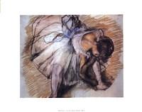 Dancer Adjusting Her Slipper Fine-Art Print