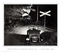 Howard and Robert Hart Jr. Pincus - Night Ride, 1985 Fine-Art Print