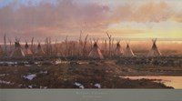 Blackfeet Camp Fine-Art Print