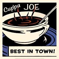 Cup'pa Joe Best in Town Fine-Art Print