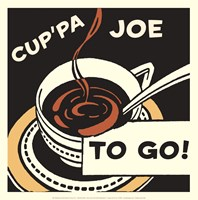 Cup'pa Joe to Go Fine-Art Print