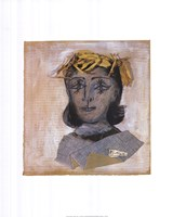 Head of Dora Maar Fine-Art Print