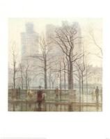 Rainy Day in the City Fine-Art Print