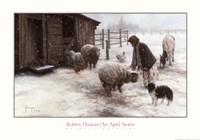 An April Storm Fine-Art Print