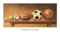 Keep Your Eye on the Ball Fine-Art Print