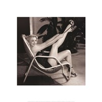 Marilyn Monroe, Poolside Fine-Art Print