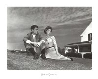 Jack and Jackie, 1953 Fine-Art Print