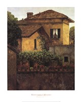 Golden Villa Fine-Art Print