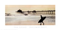 Surfer at Huntington Beach Fine-Art Print
