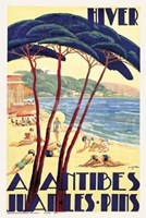 Antibes/Hiver, ca. 1930 Fine-Art Print