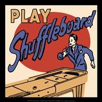 Play Shuffleboard Fine-Art Print