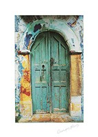 Arched Doorway [black border] (13-3/4 x 19-1/2) Fine-Art Print