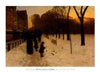 Boston Common at Twilight, 1885-86 Fine-Art Print