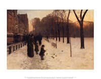 Boston Common at Twilight, 1885-86 Fine-Art Print